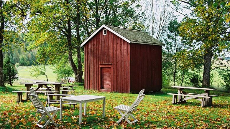 Magasinet på Vinnsäter i Järbo socken i Dalsland. Gården är byggnadsminne.