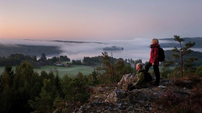 Vy över Dalsland. Foto: Lasse Forsberg