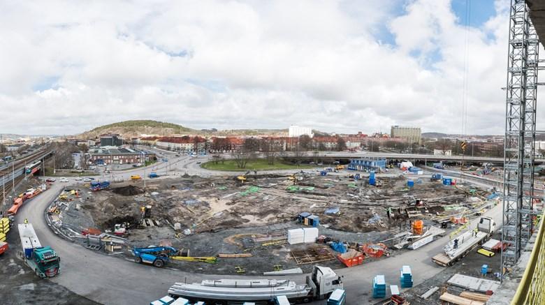 Utgrävningen av Nya Lödöse, foto: Markus Andersson