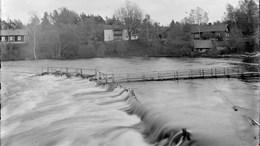 Vårflod i Gullspångsälven.