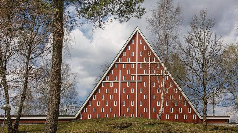 Sjöbo kyrka i Borås. Foto Ola Eriksson.