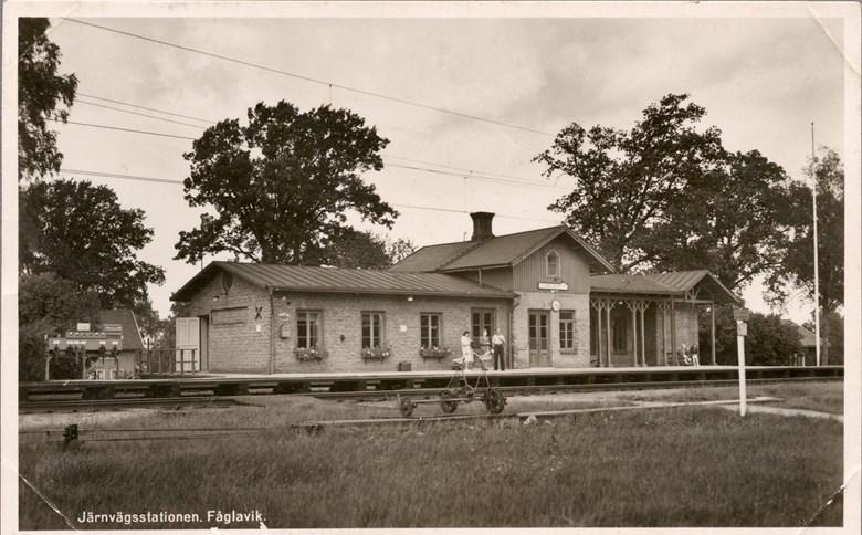 Fåglaviks stationshus