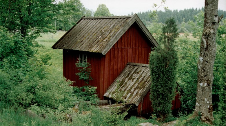 Gårdskvarn i Stora Ingärdebo