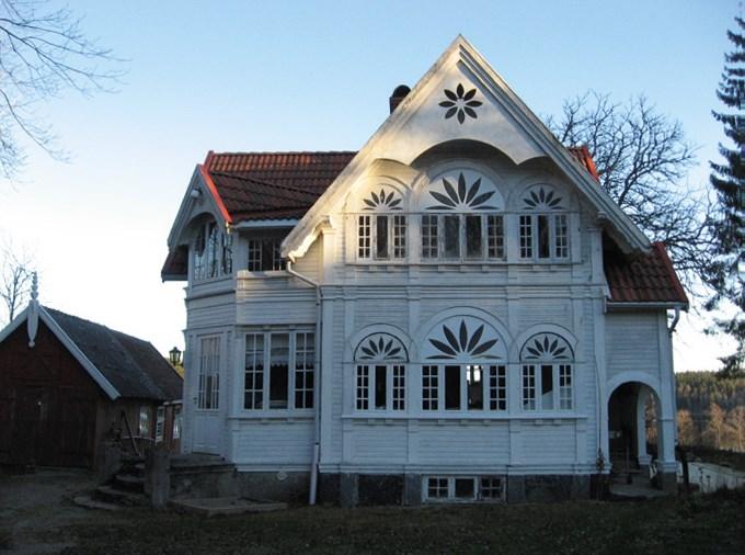 Foto på Rörviken, Nössemarks socken i Dals-Eds kommun