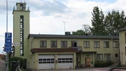 Kvarteret Amiralen i Essunga kommun.